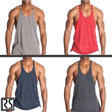 ab22a0e36c0013 Gym Stringer Y-Back Triblend Bodybuilding Racerback Tank Top by Rockland  Shirts