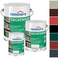 Remmers Deckfarbe 10 Liter Aidol Wasserbasiert Wetterschutzfarbe Holzfarbe