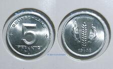 DDR 5 Pfennig 1948A-1950A *** Jahr und Erhaltung zur Auswahl