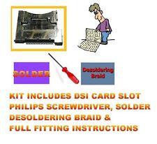 FITTING KIT DSI GAME CARD SLOT SOCKET FAULTY REPAIR