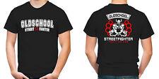 Old School Streetfighter T-Shirt | Hardcore | MMA | Fussball | M6