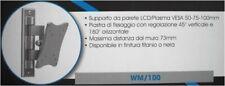 STAFFA PER TV LCD CON REGOLAZIONE 45° V E 180° H NUOVA