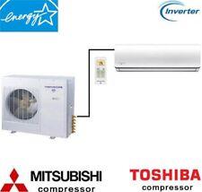 3 Ton 36000 BTU Single Zone Ductless Mini Split Air Conditioner Heat Pump