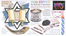 COVERSCAPE computer designed Yom Kippur 5773 commemorative event cover