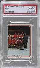 1979-80 Panini Hockey '79 Stickers #248 DDR PSA 10 Card