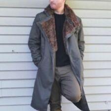 Officer K Ryan Gosling 2049 Blade Runner Long Trench Cotton Coat Jacket