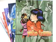 Auswahl = YOKO TSUNO Gesamtausgabe # 1 2 3 4 5 6 7 8 9 ( Carlsen ) NEUWARE