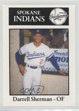 1989 Sport Pro Spokane Indians #26 Darrell Sherman Rookie Baseball Card