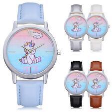 Fashion Cute Unicorn Enjoy Girls Women Wrist Watch MultiColor New Free Tracking