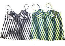 J. Crew Polka Dot Tankini Top sz 6 choose color removable straps NEW C4638