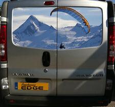 Parapente d'impression 150CM van decal autocollant paramoto montagnes mountain