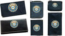 Porte Chequier ou compagnon ou porte monnaie porte carte grise signe Verseau