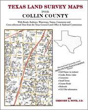 Collin County Texas Land Survey Maps Genealogy History