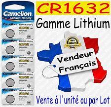 Piles boutons au choix : CR1632 ou CR2032 CR2025 CR2016 CR2430 CR2450 Lithium 3V