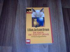 Lilian Jackson Braun -- KATZE die ZULETZT LACHTE // 14 Katzen-Kurz-Krimis (KKK)