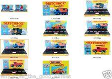 Various Custom Display for MATCHBOX Toys Regular Size 1:64 Die-Cast Model Cars