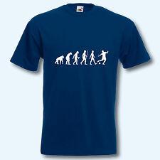 T-Shirt, Fun-Shirt, Evolution Fußball, S-XXXL