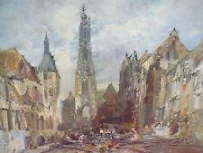 Künstler- Gemälde__Stadtansicht__Vogel__Top !