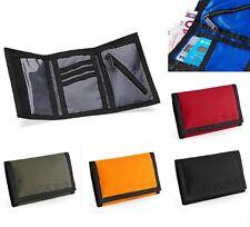 noir gris bleu vert orange ou rouge trois plis éventreur porte-feuille