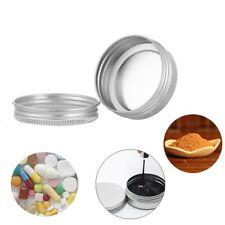 50ml Nail Art Cosmetic Travel Cream Pot Jar Tin Case Container Storage Aluminium