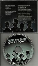 SHINY TOY GUNS Ghost town w/ RARE INSTRUMENTAL PROMO RADIO DJ CD single 2008