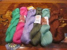 Mirasol Nuna (Merino,Bamboo, Silk) Yarn - choose from 6 colors