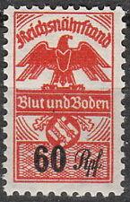 Stamp Germany Revenue WWII 3rd Reich War Era Blut Boden 06 MNH