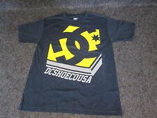 Mens Genuine DC Casual Fashion skate bmx mx Tee T-Shirt S M L XL XXL blue DC82