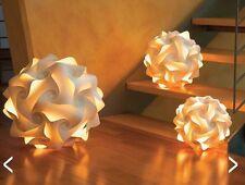 Lampenmanufaktur Papierleuchte Kugelleuchte Stehlampe Hängelampe Weiß, Licht,
