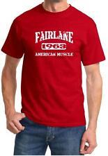 1963 Ford Fairlane American Muscle Car Classic Design Tshirt NEW