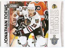 10/11 SCORE PLAYOFF HEROES Hockey (#1-25) U-Pick from List