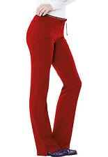 Red HeartSoul Scrubs Heart Breaker Low Rise Drawstring Pants 20110 RDHH