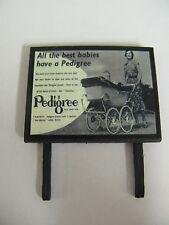 Pedigree Prams - All the best babies have a pedigree - Billboard - N & OO Gauge