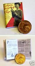 1116# Miniaturbuch Kurzschrift-Steno lernen - Puppenhaus - Puppenstube - M1zu12