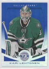 2013 Totally Certified Mirror Platinum Blue #138 Kari Lehtonen Dallas Stars Card