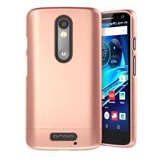 Motorola DROID Turbo 2 Case,(SlimShield Series) Ultra Thin Hybrid Cover (Rose)