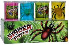 SPIDER PUTTY - NOVELTY SLIMEY SCARY FUN TOY SLIME GOO CREEPY CRAWLY - 0767