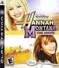 Hannah Montana: The Movie (Sony PlayStation 3, 2009) New
