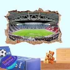 Juventus estadio de fútbol Decoración Habitación Oficina Arte Pared Adhesivo Calcomanía Mural ZM0