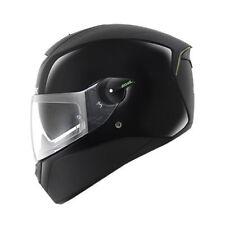 SHARK SKWAL LED sistema DVS Led Cara Completa Casco De Motocicleta-Negro Doble