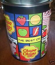 Chupa Chups Mega Tin 1000 Lollipops The Best of