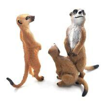 Meerkat Figurine Animals Statues Home Miniature Garden Decoration Accessories