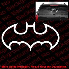 LARGE- BATMAN Outline ONLY Car Window Vinyl Decal Sticker/Dodge/Jeep/Mopar CM018