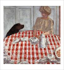 Bonnard - The Dog's Dinner fine art giclee print poster various sizes