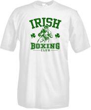 T-Shirt girocollo manica corta Sport P25 Boxe Boxeur Irish Boxing Club Pugilato