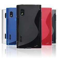 Silikon Hülle für LG Optimus L5  S-Style + 2 Schutzfolien
