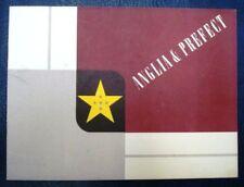 FORD ANGLIA + PREFECT SALES BROCHURE 1954 (DANISH TEXT)