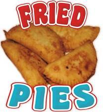 "Fried Pies Fruit Concession Food Menu Decal 12"""