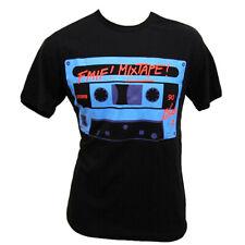 David Guetta F*** Me I'm Famous Ibiza Mens T-shirt FMIF Mixtape Cassette BLACK