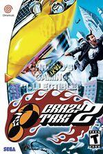 RGC Huge Poster - Crazy Taxi 2 Sega DreamCast BOX ART - SDC022